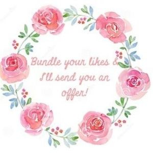 Bundle Your Likes For A SWEET OFFER!